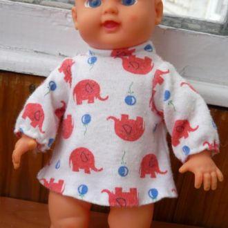 Лялька пупс кукла с рельефными волосами 23см