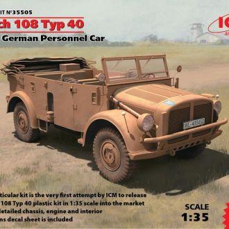 ICM - 35505 - Horch 108 Typ 40 - 1:35