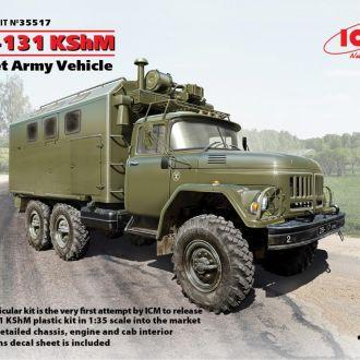 ICM - 35517 - ЗиЛ-131 КШМ, Армейский автомобиль - 1:35