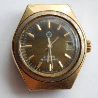 часы наручные ЛУЧ АУ10 ПОЗОЛОТА 4594