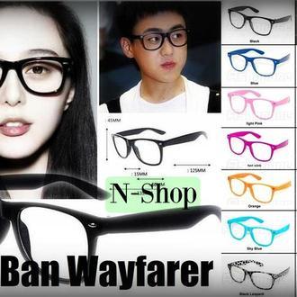 Очки Ray Ban Wayfarer с прозрачными стеклами линзами ,окуляри прозорі