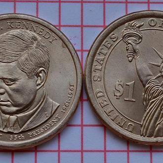 США 1 доллар 35-й президент Д.Кеннеди