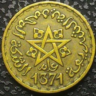 Марокко 10 франков 1371 СОСТОЯНИЕ!