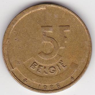 5 франков Бельгии