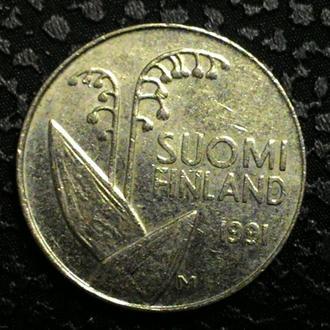 Финляндия 10 пенни 1991 год СОСТОЯНИЕ!!!