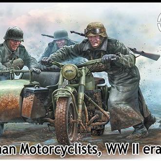 Master Box 35178 Германские мотоциклисты, 2МВ