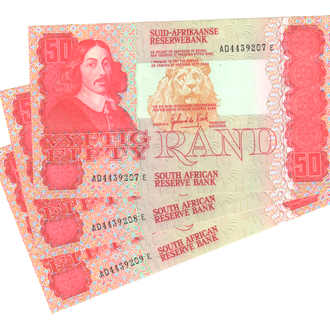 Южная Африка 50 рандов 1984-1990г. в UNC