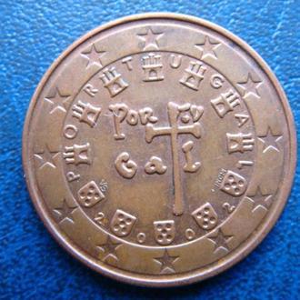 Португалия 5 центов 2002