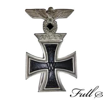 Железный крест І степень (1914) + повторная награда І степень (1939) (КОПИЯ)