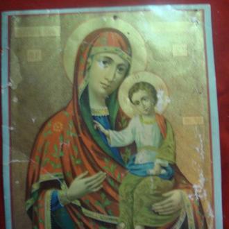 Икона,литография, МБ Гербовецкая(Кишеневская),размер23*28