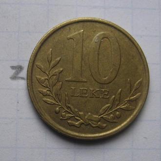 АЛБАНИЯ. 10 леков 2013 г. (КРЕПОСТЬ).