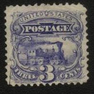 США 1869г. №28* без клея