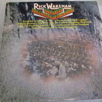 RICK WAKEMAN. JOURNEY TO THECENTRE OF THE EARTH.1974. USA EX/EX