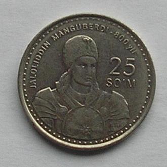 Узбекистан 25 сом 1999