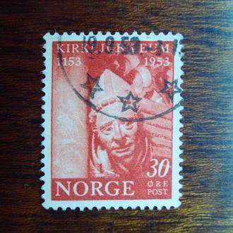 Норвегия.1953г. Музей искусства. Полная серия.