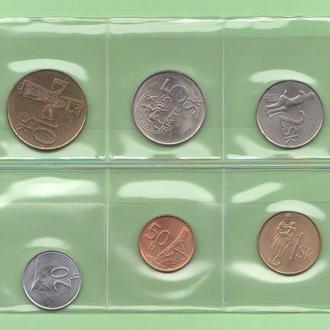 Словакия набор монет UNC (немецкая ф-ма REPPA )