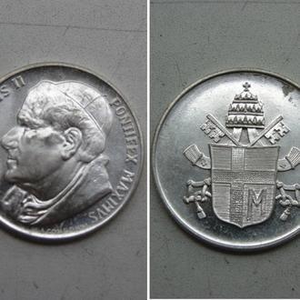 Жетон . Ватикан. JOANNES PAVLVS II