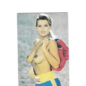 Календарик 1996 Эротика
