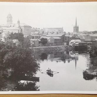 Почтовая открытка г.Энниски́ллен 1910 г. копия. Ирландия.