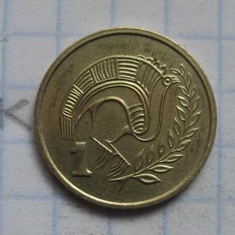 КИПР, 1 цент 1983 года.