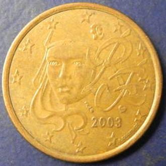 5 євроцентів 2003 Франція