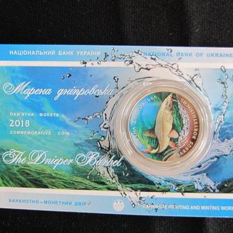 Марена дніпровська  2 грн 2018 в сувенірній упаковці
