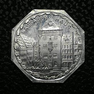 НЮРНБЕРГ 20 пфеннигов 1921 года №5 СОСТОЯНИЕ!