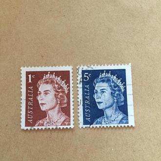 Австралия/ королева Англии/ 1967/ люди/ личности