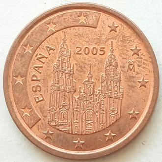 (А) Испания 5 евроцентов евро центов 2005