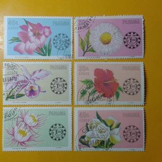 Панама,1965г .флора, полная, гаш.