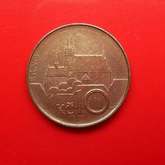 Чехия, 10 крон 1993 г.