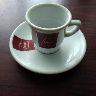 2..DELTA..Чашка +блюдечко ..колекційні