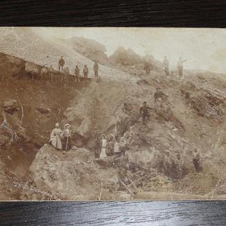 старая открытка. Кавказ.