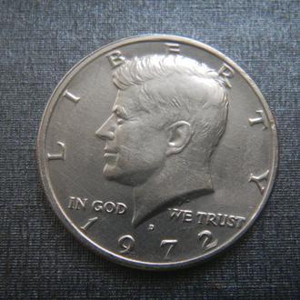 США 1/2 доллара 1972 D