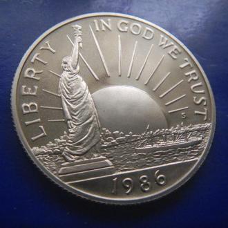 США 1/2 доллара 1986_(S) ПРУФ 100 лет Статуе Свободы
