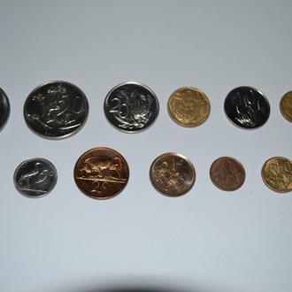 ЮАР - набор монет 12 шт.