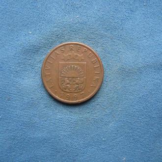Латвия 1 сантим 1997 год