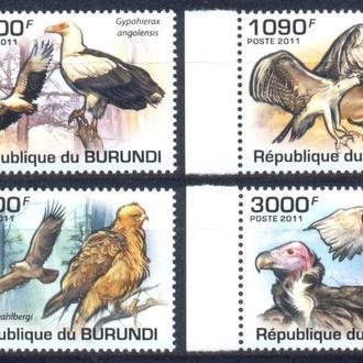 Бурунди 2011 ** Фауна Птицы Хищные серия MNH
