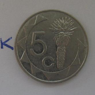 НАМИБИЯ 5 центов 1993 г.