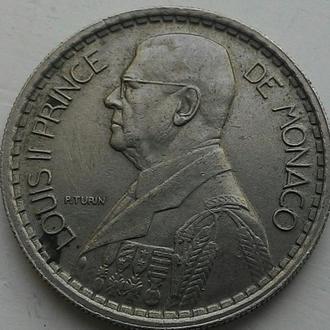 Монако 10 франков 1946 год СОСТОЯНИЕ!!!