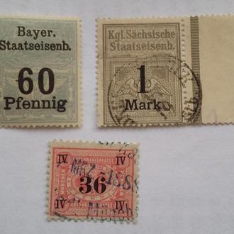 Не почтовые марки . Германия 3 шт
