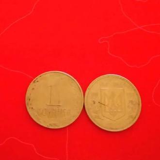 монета номиналом 1 копейка 1992 года