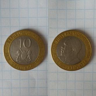 Кения 10 шиллингов