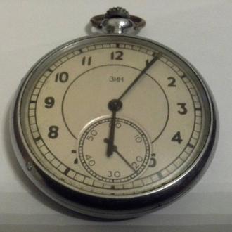 Часы Златоустовский Ч З карманные рабочие