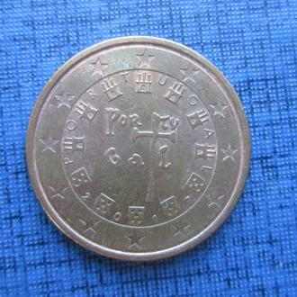 монета 5 евроцентов Португалия 2017