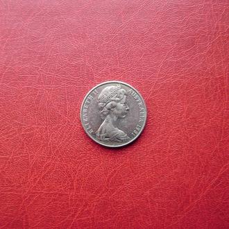 Австралия 20 центов 1981