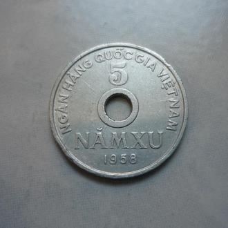 Вьетнам 5 су 1958