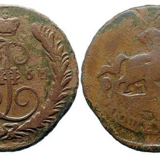 1 копейка 1763 ММ года №3370