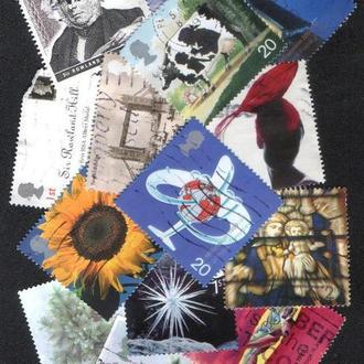 Великобритания. Подборка марок №27. 14 марок