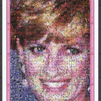 Микронезия 2000 ** Миллениум Искусство Живопись История Личности Диана лист MNH